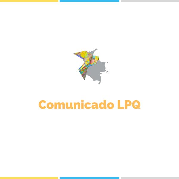 COMUNICADO LPQ