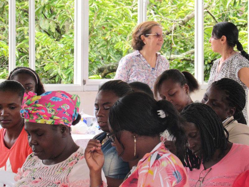 Conversación con ASOM – mujeres de la Balsa, Cauca