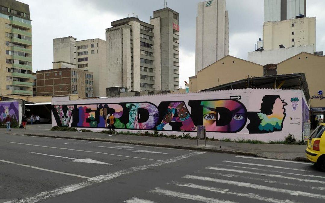 UN GRAFFITI DE VERDAD